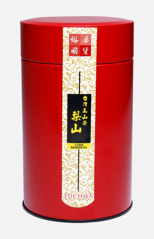 Yue Hwa Taiwan Li Shan  High Mountain Oolong Tea (150g/tin)