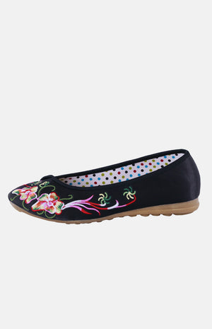 Silk Embroidere Shoe (C)