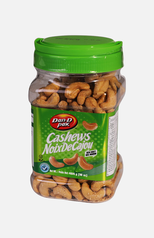 Dan-D Pak Cashews (Sea Salt)(454g)