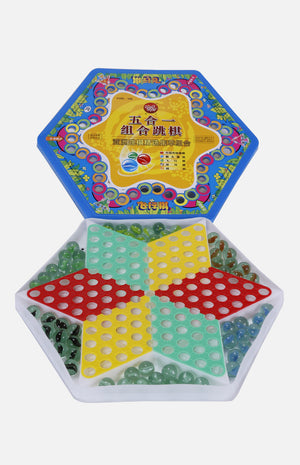 5 in 1 Chinese Checkers