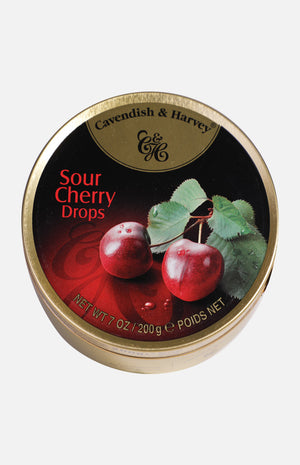 Cavendish & Harvey Sour Cherry Drops (200g)