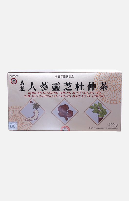 Korean Ginseng Young Ji Tu Chung Tea (100 teabags)