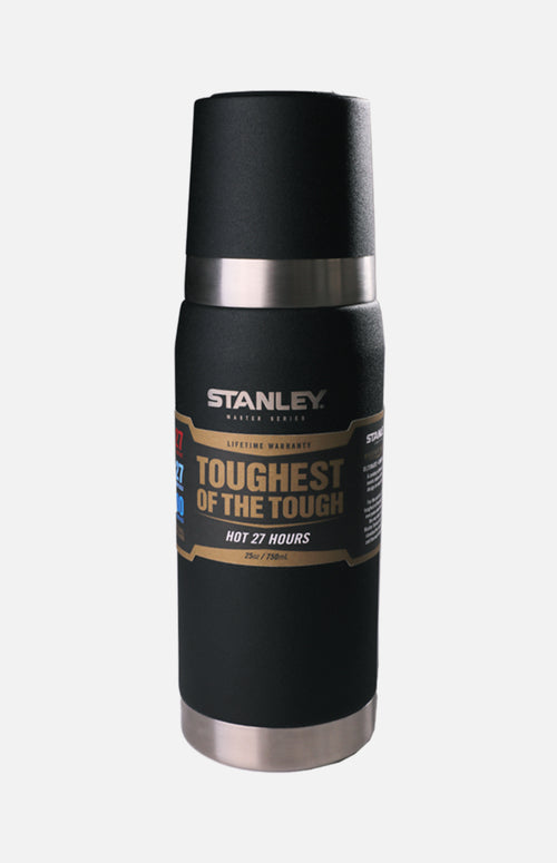 U.S.A. Stanley Master Vacuum Bottle (25oz)- Black
