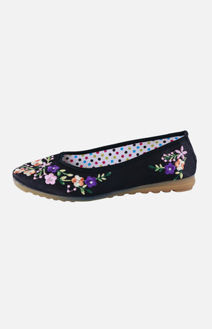 Silk Embroidere Shoe (F)