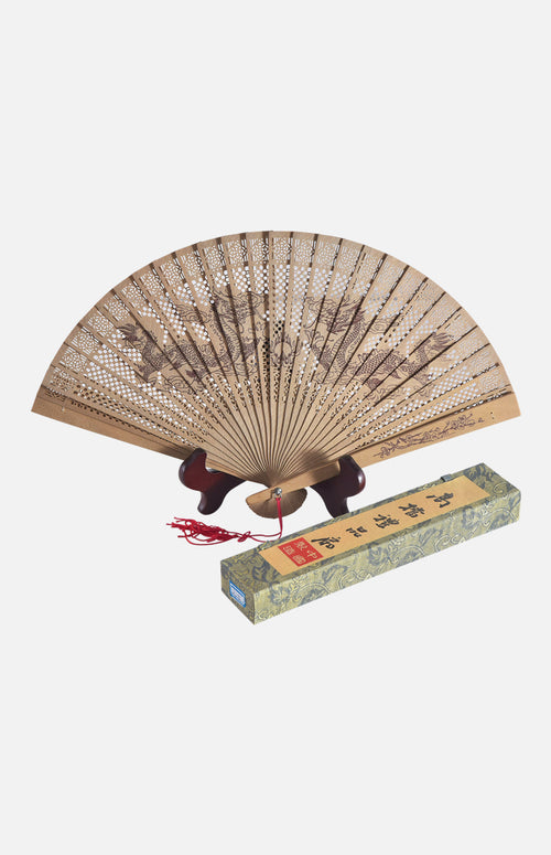 Fragrant wood Fan