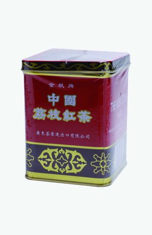 Gold Sail Brand Lichee Black Tea (0.5lb./tin)