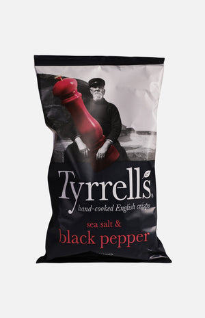 Tyrrells Sea Salt & Black Pepper Crisps (150g)