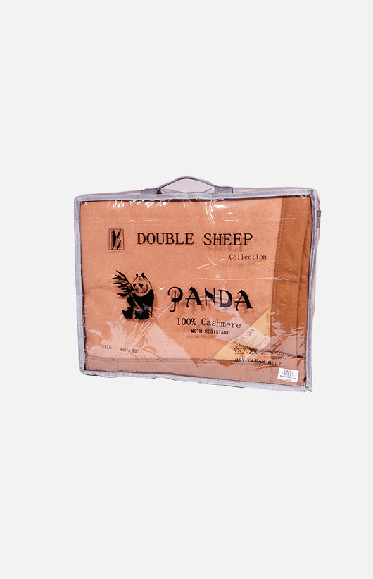 Double Sheep 100% Cashmere King Blanket