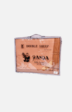 Double Sheep 100% Cashmere Single Blanket