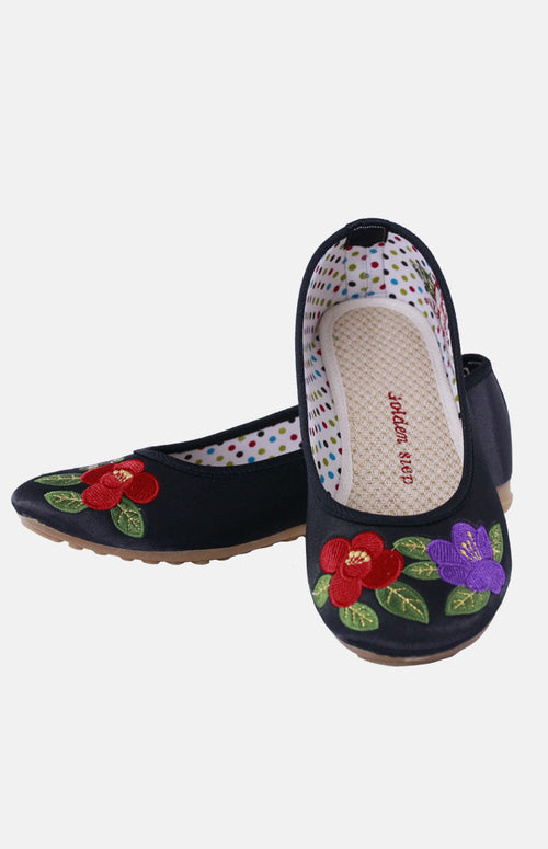 Silk Embroidere Shoe (B)