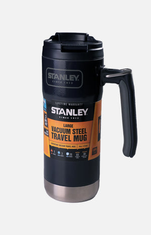 U.S.A. Stanley Vacuum Insulated Travel Mug- H. Navy