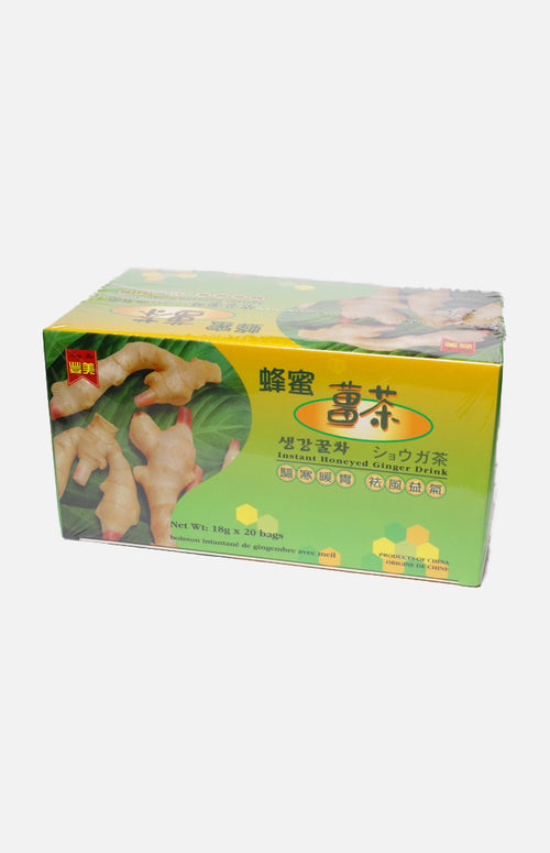 Fung Mei Ginger Drink with Honey (20pcs/box)