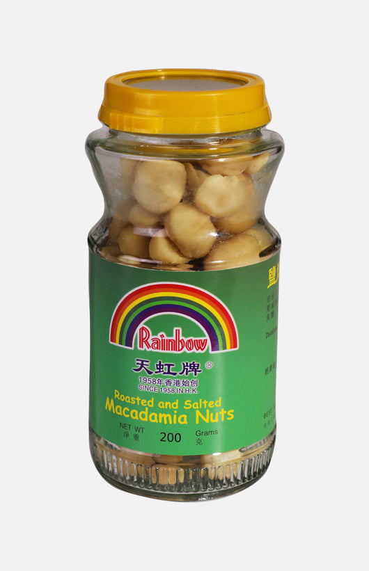 Rainbow Roasted and Salted Macadamia Nuts (200g)