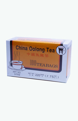 Bao Ding Brand China Oulong Tea Bags (100 tea bags)