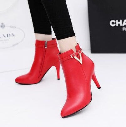 High Heels Pointed Women Boots