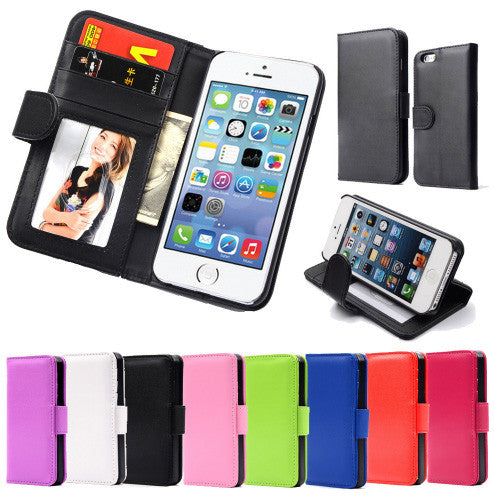 Case Wallet for iPhone 5, iPhone SE, iPhone 5S