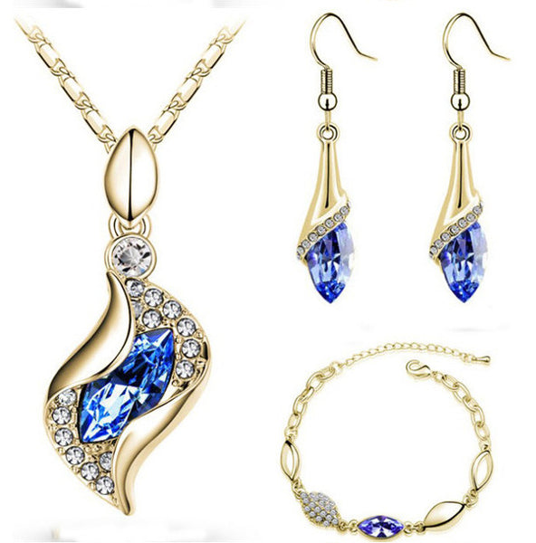 FREE Top Quality Elegant Jewelry Set - Necklace, Earrings and Bracelet – Many Variations - Offer