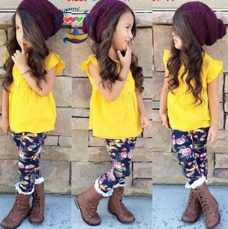 Kids Clothing - Sleeveless + Pants Set