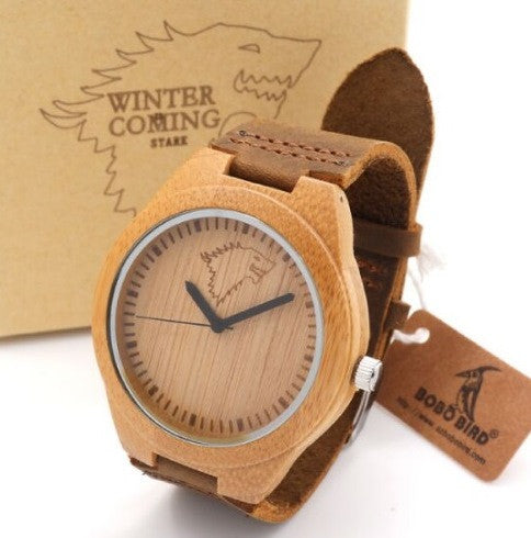 Leather Strap Men Watches