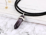 Natural Stone Necklace - Many Colors