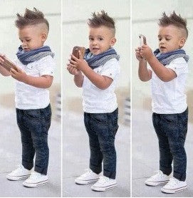 Boys Denim Clothing Set