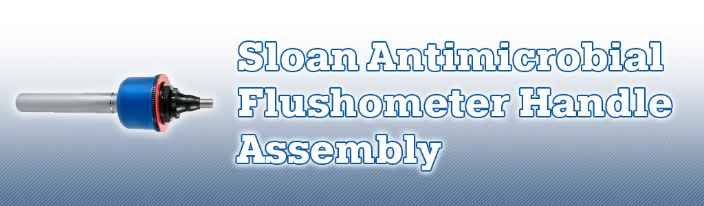 Sloan Antimicrobial Flushometer Handle Assembly