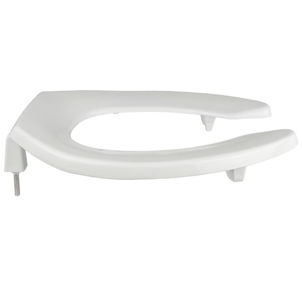 Elongated Lift Toilet Seat 2 Inch Heavy Duty White