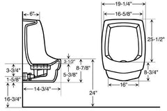 Waterfree Urinal - Wall Mount