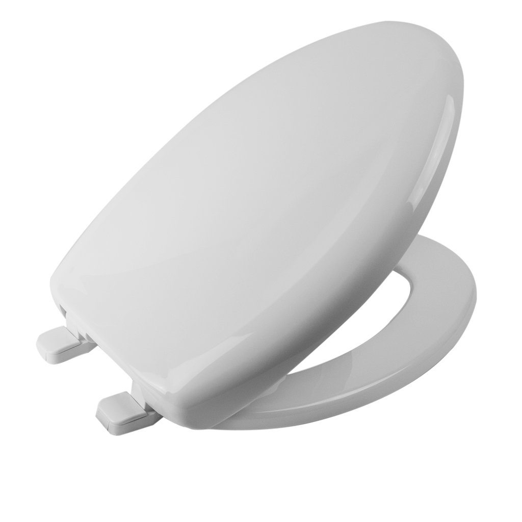 Church Toilet Seat - Elongated Closed Front with Cover