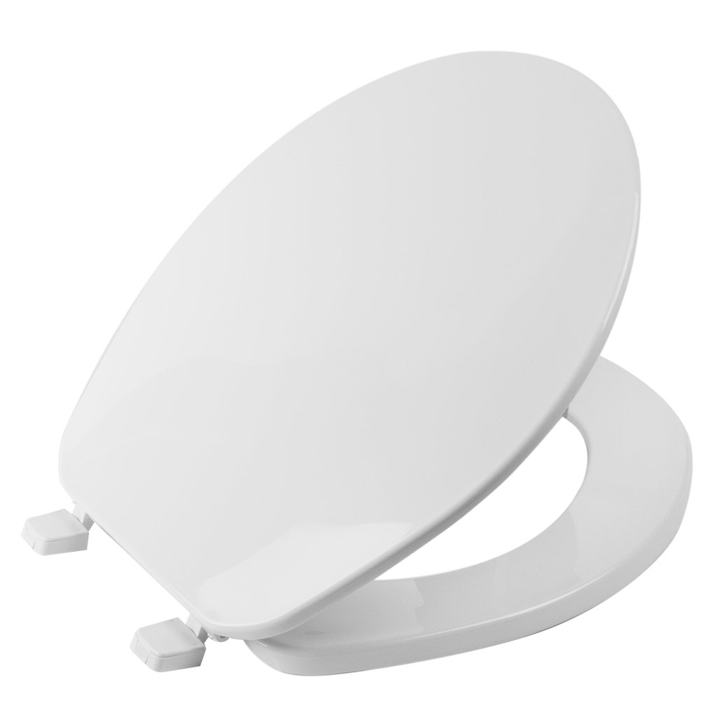 Centoco Toilet Seat - Round Closed Front with Cover (Medium-Duty)