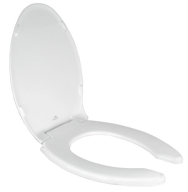 Toilet Seat - Elongated Open Front w/Cover