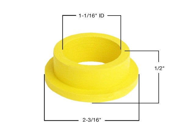 Spud Washer Flanged - 3/4""