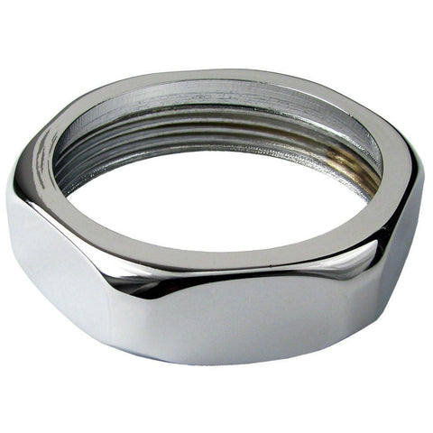 Chrome Plated Flush Valve Handle Coupling Nut