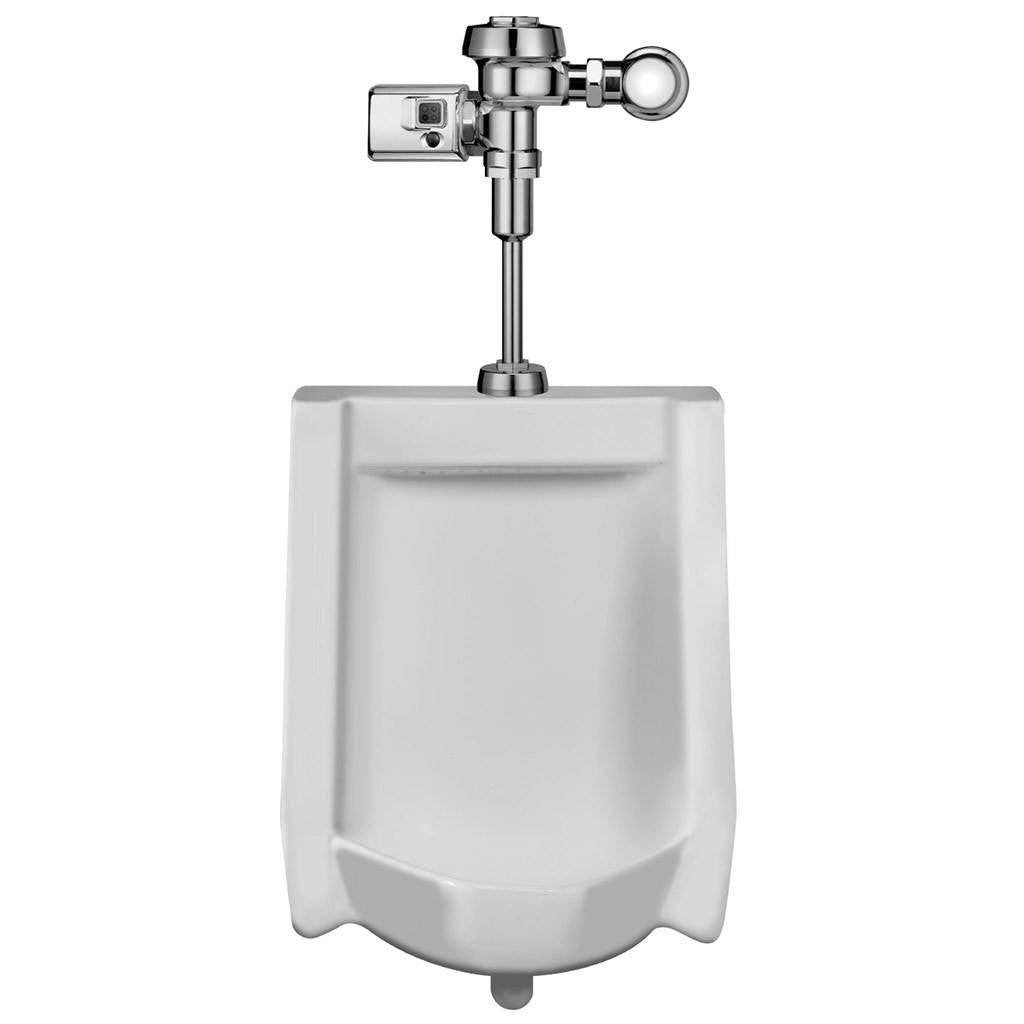 Sloan China Urinal with Royal Side Mount Operator 0.25 GPF