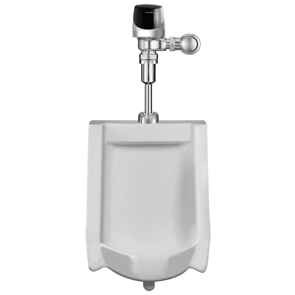 Sloan Urinal with G2 Optima Plus Flushometer