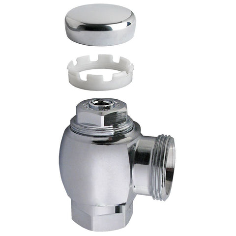 Royal Flushometer Stop Assembly Angle