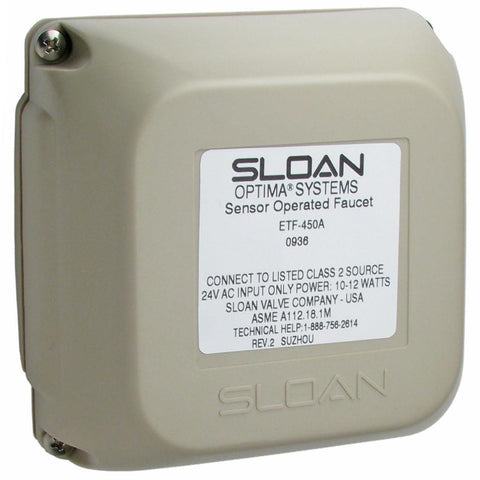 Sloan ETF450A Optima Faucet Control Module Assembly
