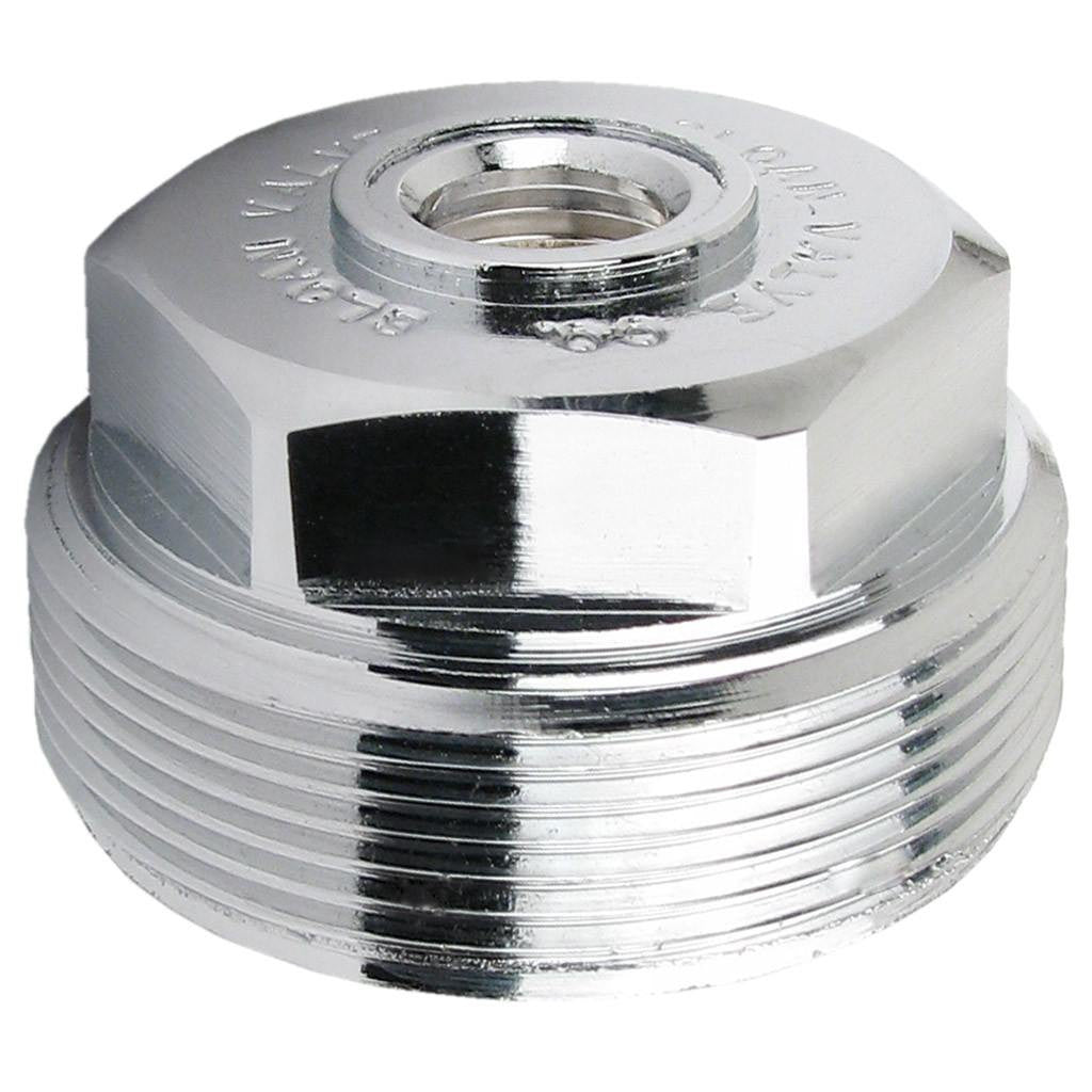 Stop Cap Bonnet Nut - Chrome