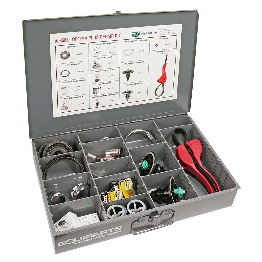 Master Optima Plus Electronic Flushometer Repair Parts Kit