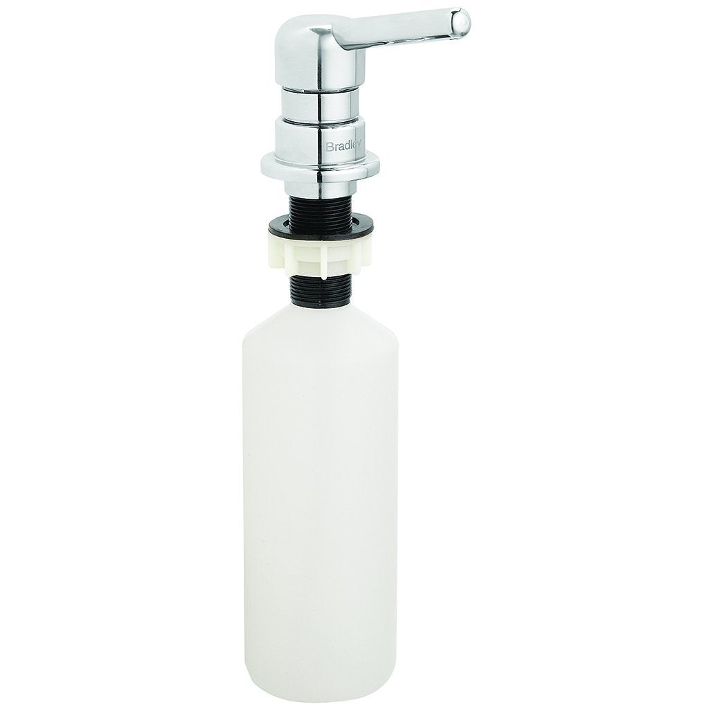 Bradley Mounted Spout Pump Soap Dispenser