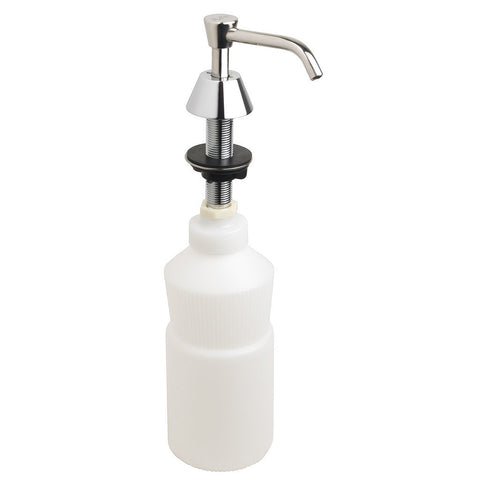 Vanity Mounted Soap Dispenser