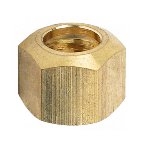 "Compression Nut - 3/8"" (Brass)"