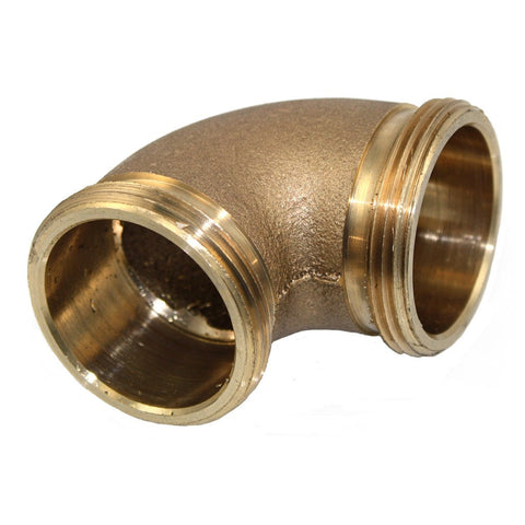 Brass Double Male Slip Joint Elbow