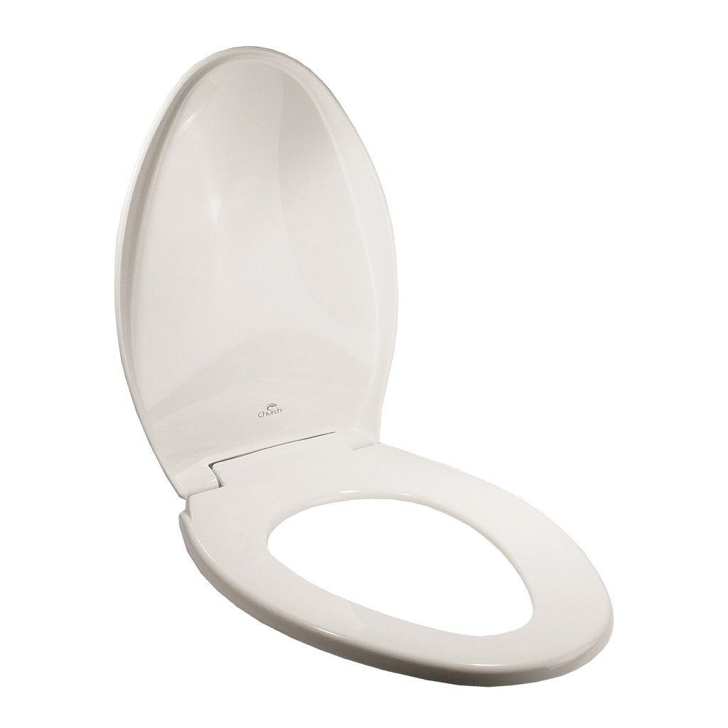 Toilet Seat - Elongated Slow-Close with Lid (White)