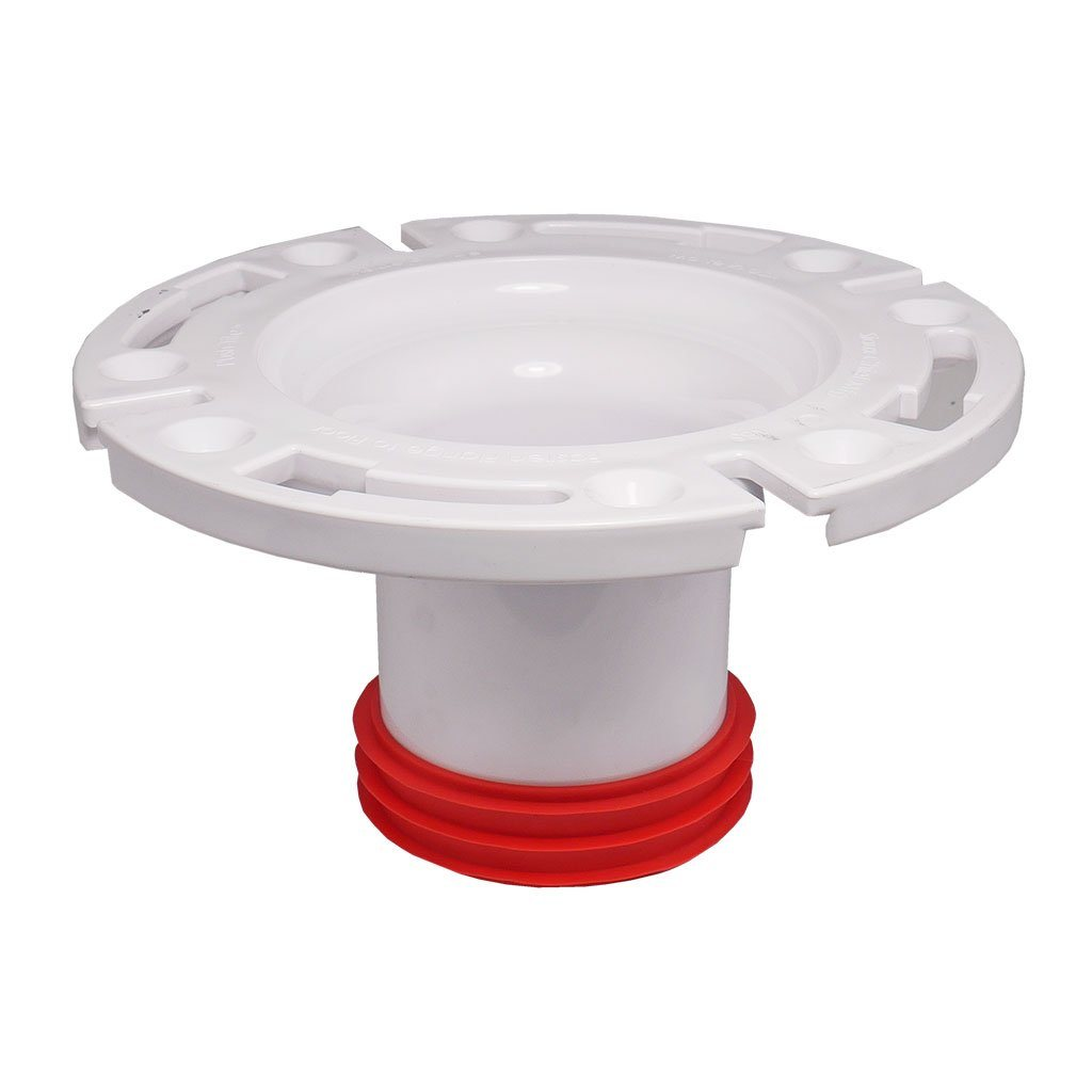 "3"" Inside Fit Closet Flange with Plastic Ring"