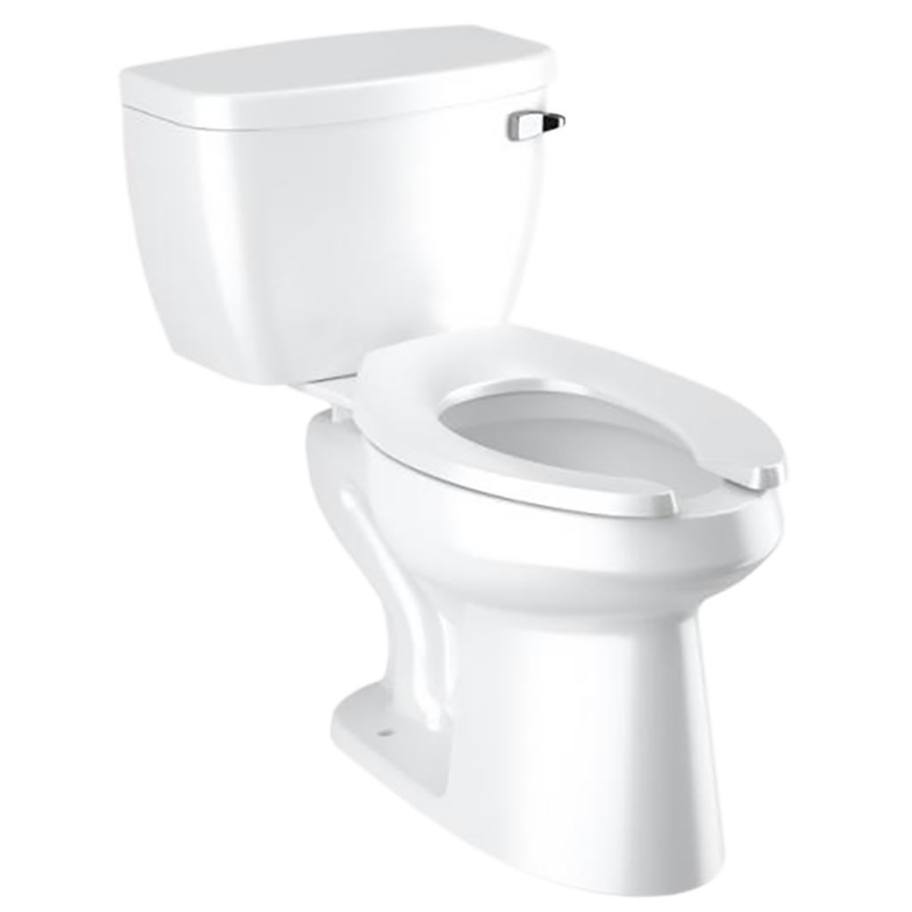 Sloan toilet with Flushmate pressure vessel