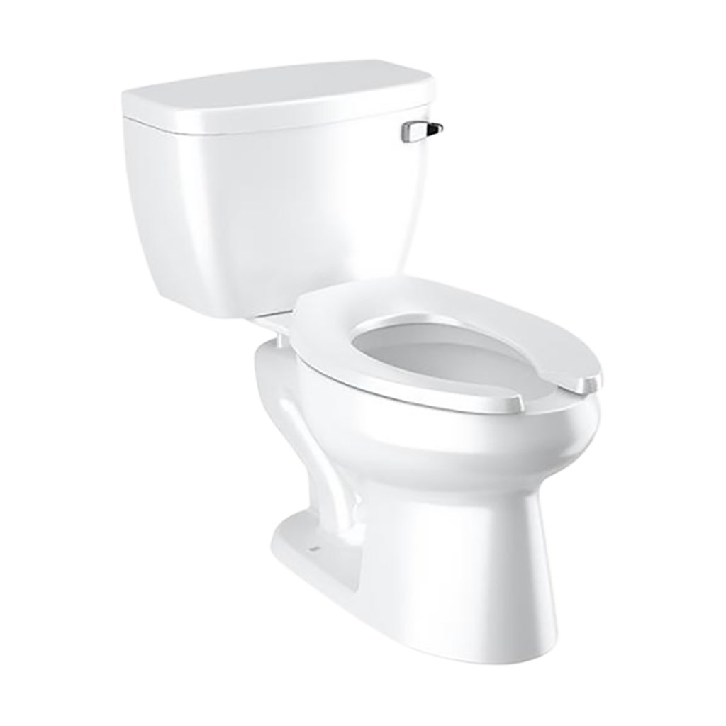 Pressure Assist Toilet Tank with Bowl - 1.28 GPF STD Height RH Tank