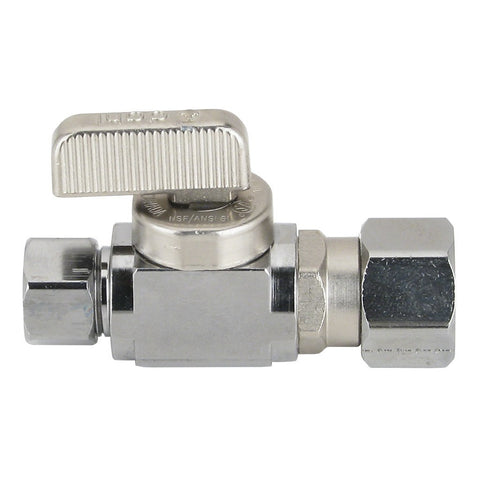 Straight Stop Valve for Sloan Ball Type
