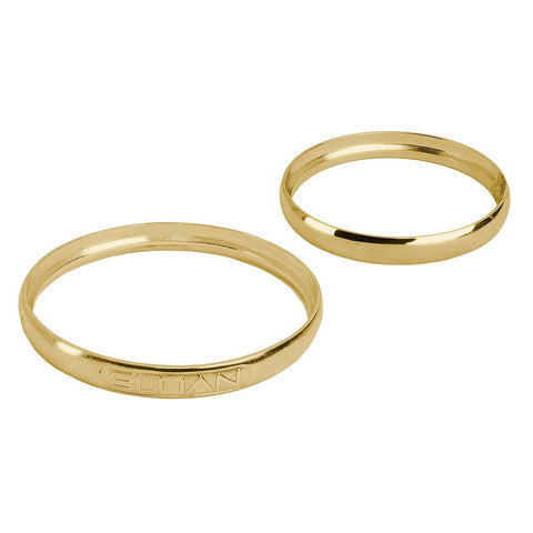 PVD-Polished Brass Handle & Cover Trim Ring Kit