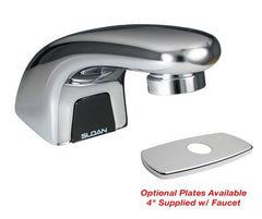 "Optima Plus Pedestal Faucet w/ Box Mount Transformer - Optional 4"" Center Baseplate - 0.5 GPM"